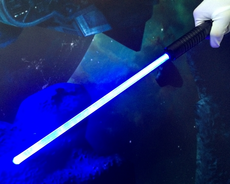 Star Wars Jedi Blue Lightsaber
